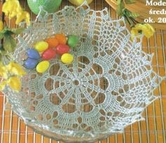 húsvéti kosárka Crochet Wedding, Crochet Home, Diy And Crafts, Christmas Tree, Holiday Decor, Baskets, Craft, Hampers, Tejidos