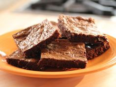 Get Three-Ingredient Brownies Recipe from Food Network