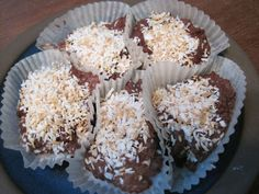 FAT BOMBS!    :-)     Sounds yummy.  One of these days I'd like to try my hand at these.  3 carbs each.