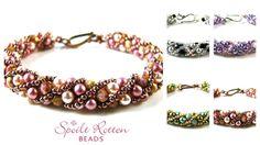 Russian Spiral  ~ Seed Bead Tutorials