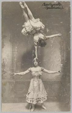 Vintage. Old Vaudeville.