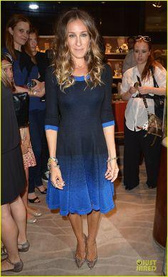 Sarah Jessica Parker succombe à la coloration tie