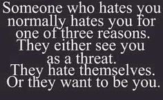 I hate two faced people | Funny Facebook Status: Reasons people hate you funny quote