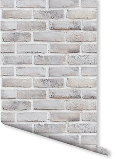 Create a charmingly neutral feel in your home - This faux brick wallpaper's off-white colouration has a beautifully natural-looking, minimal look that can make any room homely yet contemporary. You can perfectly match this wallpaper with any furniture and décor.