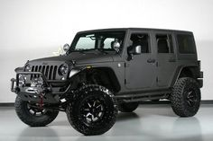 gunmetal grey jeep shara | 2014 Jeep Wrangler Unlimited (23S Pkg) We Finance in Dallas, Texas