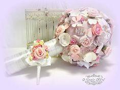 MagicArt / Snívanie o láske Paper Flowers, Divas, Bouquet, Pastel, Glamour, Cake, Bouquets, Floral Arrangements, Nosegay