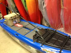 I have not been out on the SUPerFISHal. Looks like a great way to fish. Available in two colors at Mountain Sports(Red and Blue). Sup Fishing, Fish Stand, Paddle Boarding, Kayaking, Red And Blue, Jackson, Texas, Boating, Rv