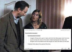 Image result for harry and ginny conversation about money and food tumblr