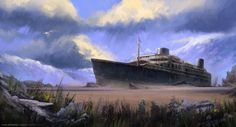 Wreck by SebastianWagner.deviantart.com on @deviantART
