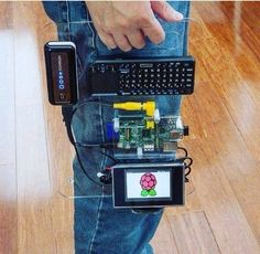 The Raspberry Pi sets the bar, and then raises it. Bar: The Raspberry Pi is a credit-card sized computer that plugs into a TV and keyboard to produce full PC functionality in the form of spreadsheets, word processing, games, and HD video pr Electronics Projects, Computer Projects, Arduino Projects, Esp8266 Arduino, Arduino Programming, Programming Humor, Diy Tech, Cool Tech, Pc Cases