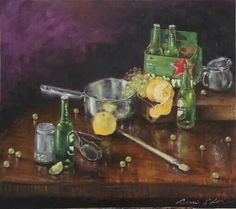 Oil painting by renflo
