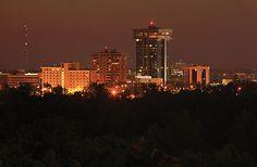 Springfield, MO at night