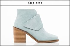 Dare to dream and wear your pastels in the fall. Groundbreaking, we know. #refinery29 http://www.refinery29.com/affordable-fall-ankle-boots#slide-21