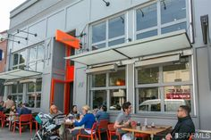 San Francisco, great for year-round outdoor dining