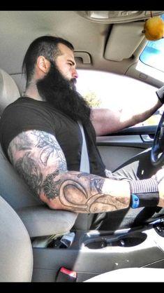 The driven beard