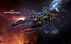 Bringing justice to all. EVE Online Retribution.