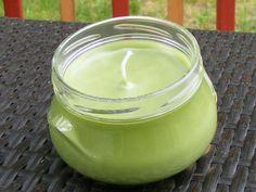 Honeydew Mason Jar candle by candlekraze on Etsy, $8.00