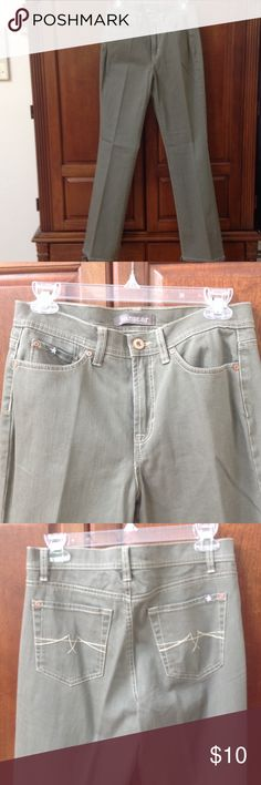JeanStar Size 9 NWOT 5-Pocket 98%cotton,2%spandex, never worn, cute and comfortable JeanStar Pants Straight Leg