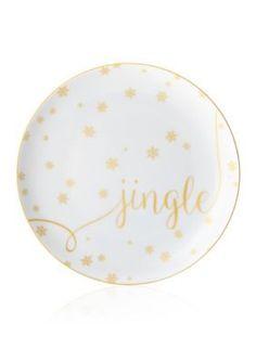 Mikasa  Jingle Delray Holiday Accent Plate