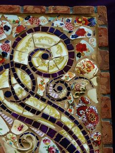 Detail Mosaics Poster By Charles Lucas - This is so eye catching - Awesome!
