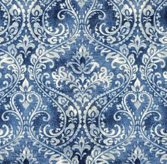 Distributor prices on Covington TOULOUSE 51 DENIM floral print upholstery and drapery fabric. Decorative Fabrics Direct since fabric and samples available for immediate shipment. Blue And White Curtains, Blue And White Fabric, Aqua Fabric, Floral Print Fabric, Floral Prints, Chair Fabric, Drapery Fabric, Floral Upholstery Fabric, La Reverie