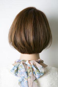 耳かけのしやすさは実はカットで決まる ショートボブ | 銀座 美容室 sand サンド Jyo 島崎譲の黄金日記(ブログ)