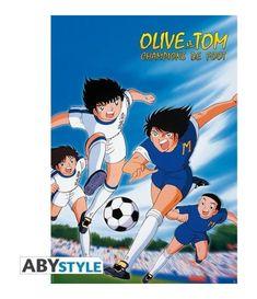 Poster Olive et Tom Captain Tsubasa, Olive Et Tom, Jem Et Les Hologrammes, Manga Anime, Star Wars Shop, Champions, Classic Cartoons, Girls World, Funko Pop Vinyl