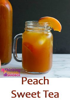 Peach Sweet Tea Recipe