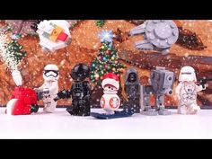 LEGO Star Wars Advent Calendar 2017 - Stop Motion & Unboxing & Magic Speed build LEGO 75184 - YouTube
