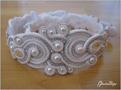belt soutache wedding dress by ~GosiaBizu on deviantART