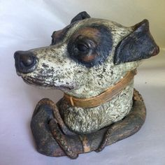 Cold Painted Metal inkwell