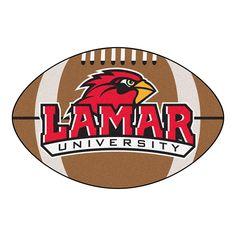 Lamar Cardinals NCAA Football Floor Mat (22x35)