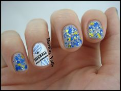 Darling Nails: Let's Go Brewers