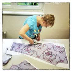 Handmade leggins in production. Table, Handmade, Furniture, Home Decor, Hand Made, Decoration Home, Room Decor, Tables, Home Furnishings