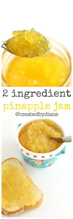 This pineapple jam recipe is so easy, it sets up in the refrigerator so there is no boiling jars and waiting. You can enjoy it as soon as it's chilled. Spring is upon us and the sweet flavors of fruit are in full swing in my kitchen. I love fruity flavors