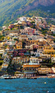 Beautiful Positano, Amalfi Coast, Italy - photography by Francesco R. Iacomino