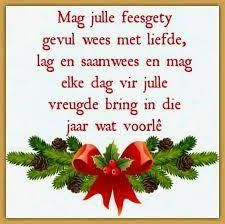 Image result for afrikaans christmas wishes