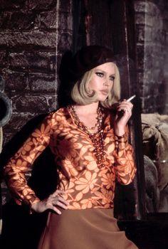 Brigitte Bardot as Bonnie Parker of Bonnie and Clyde, photographed by Jean-Claude Sauer for Paris-Match, 1968. (©Paris-Match).