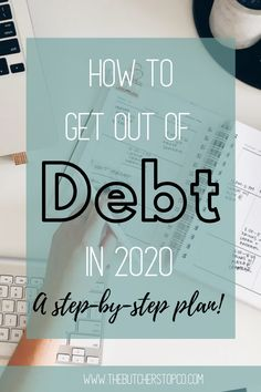 How To Get Out Of Debt In 2020 (A Step-By-Step Plan!)Learn how to get out of debt in 2020 with Dave Ramsey's Step-By-Step Baby Step plan! Dave Ramsey's Baby Step plan teaches you how to get out of debt a. The Plan, How To Plan, The Journey, Budgeting Finances, Budgeting Tips, Total Money Makeover, Teaching Plan, Debt Free Living, Debt Snowball