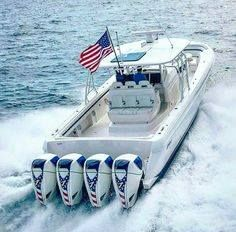 Intrepid boats powered by 4 Seven Marine ( total 2508 hp ) By Repost from Fast Boats, Speed Boats, Jet Ski, Fishing Yachts, Center Console Fishing Boats, Ski Boats, Motor Boats, Offshore Boats, Yacht Builders