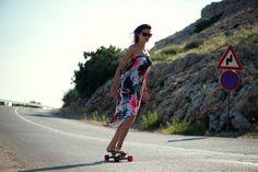Femi Pleasure GUJANA tropical print dress Surf Style, My Style, Skateboard, Gypsy, Surf Fashion, Bike, How To Wear, Tropical, Dresses