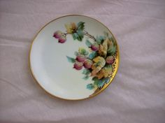Hand Painted Beautiful  6 Plate by E.W. by GiftsFromFlutters