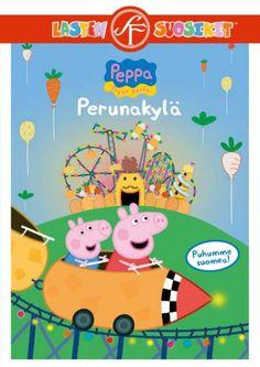 Pipsa Possu: Perunakylä dvd. Mikä mahtaa olla Perunakylä? Yksityiskohdat selviävät kun Pipsa lähtee pienelle reissulle. Dvd:n muissa jaksoissa käymme myös sairaalassa ja tutustumme tietokoneen toimintaan. Pirate Island, Bus Travel, Peppa Pig, Pepsi, Potatoes, Attic, Animation, Seasons, Grass