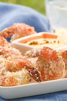 Baked Coconut Shrimp (Weight Watchers)