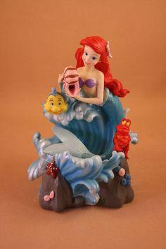 "MLM Disney's The Little Mermaid Ariel ""Under The Sea"" Fountain Figurine | eBay"