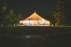 Tent at The Estate at Moraine Farm!