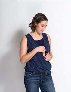 4cd880e4a9e Momzelle Nursing Top Isabelle is a beautiful breastfeeding top for the  affordable price. Looks and
