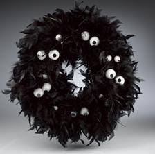 DIY Tutorial: DIY Halloween Decor DIY Halloween Crafts / DIY Nevermore Halloween Wreath - Bead