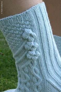 Knit Socks: Asti pattern by Allison Haas