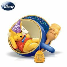 "Disney ""Honey Lemon Tea"" Winnie The Pooh Figurine - http://bradford-exchange.goshopinterest.com/collectibles/teacups-saucers/disney-honey-lemon-tea-winnie-the-pooh-figurine/"